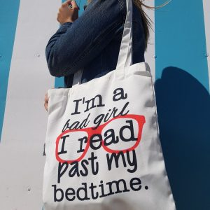 Shopping Bag. I'm a bad girl, I read past my bedtime.