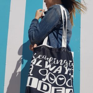 Tote Bag: Reading is always a good idea