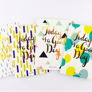 Pack libretas 'Today is a Good Day'