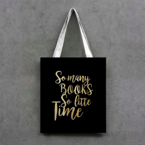 Shopping Bag. So many books, so little time